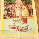 TOM SAWYER Johnny Whitaker JODIE FOSTER Musical POSTER