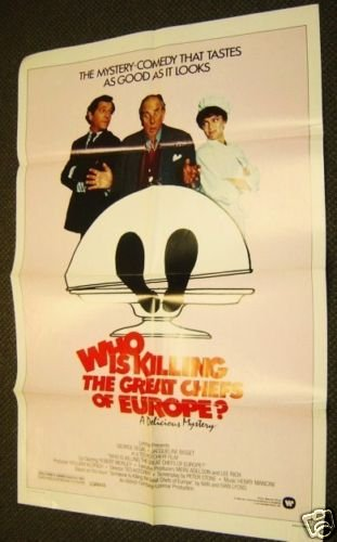 WHO IS KILLING THE  GREAT CHEF'S OF EUROPE Movie POSTER