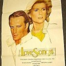 CATHERINE DENEUVE Love Songs POSTER Christopher Lambert