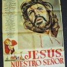 Jesús, nuestro Señor MEXICAN Poster CLAUDIO BROOK Jesus
