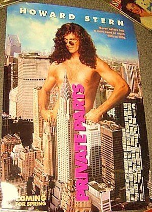 All Star Auto Sales >> HOWARD STERN Private Parts POSTER Chrysler Building '97