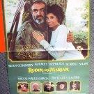 ROBIN AND MARIAN Original PROGRAM Poster AUDREY HEPBURN