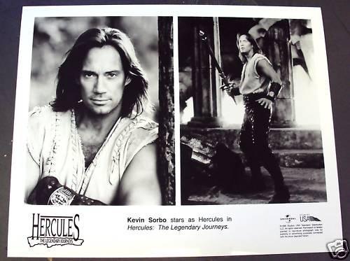 KEVIN SORBO  Original HERCULES Legendary JOURNEY  Photo