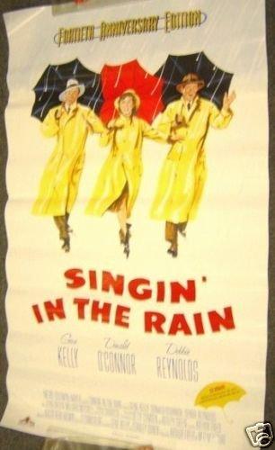 SINGIN' IN THE RAIN Poster MGM Gene Kelly M.G.M Singing