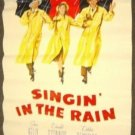 SINGIN' IN THE RAIN Poster MGM Gene Kelly M.G.M Singing