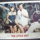 AVA GARDNER The LITTLE HUT Lobby Card DAVID NIVEN M.G.M