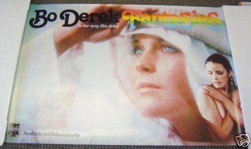 BO DEREK  Sexy Promo POSTER Fantasies 10  Ten Star 1981