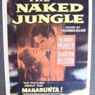 NAKED JUNGLE Charlton Heston 1954 Poster ELEANOR POWELL