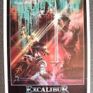 EXCALIBUR Rarer 1-Sheet POSTER NIGEL TERRY Helen Mirren