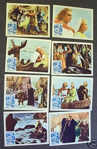 DAY THE EARTH FROZE Original  Lobby Card SET Sampo 1963