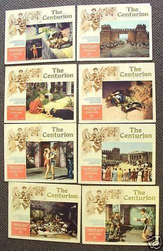 GORDON MITCHELL The CENTURION Sword Sandals LOBBY CARD