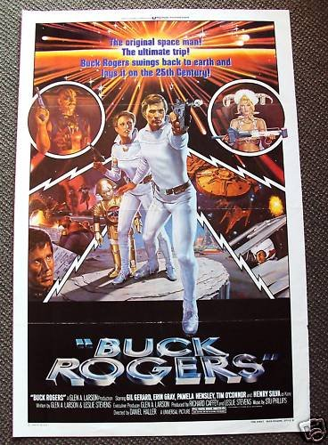 BUCK ROGERS in 25th Century  1-Sheet POSTER  GIL GERARD