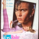 CRY- BABY  Poster  JOHNNY DEPP  Traci Lords JOHN WATERS