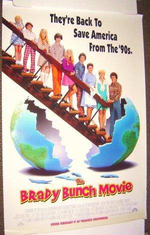 The BRADY BUNCH  Movie ORIGINAL Poster GARY COLE  1995