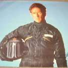 CLINT EASTWOOD Huge POSTER Leather  MOTORCYCLE  Firefox