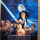 "RETURN OF THE JEDI Original ""B""  Movie POSTER Star Wars"