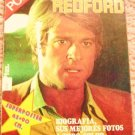 ROBERT REDFORD  Color  POSTER Magazine on Career  SPAIN