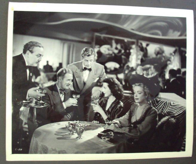 HEDY LAMARR  Original DISHONORED LADY  Scene Photo 1947