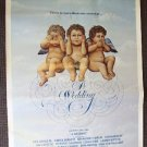ROBERT ALTMAN a WEDDING Cherubs ANGEL's Original POSTER
