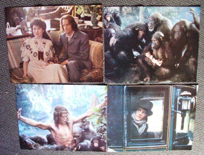 GREYSTOKE Legend TARZAN Lord of the Apes LOBBY CARD Set