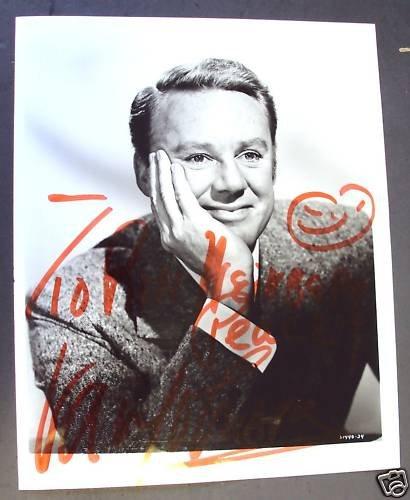 VAN JOHNSON Original SIGNED in Person AUTOGRAPH  Photo