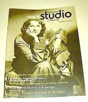 GRETA GARBO  Hollywood Studio Magazine 1971  Mae West