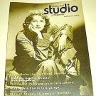 GRETA GARBO  Hollywood Studio Magazine 1971  Mae West
