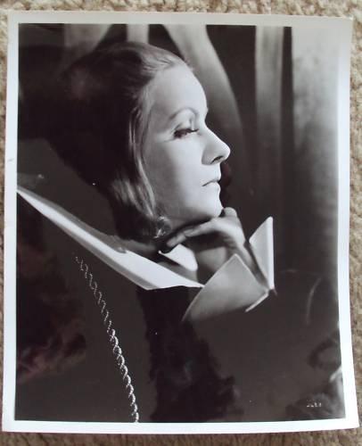 GRETA GARBO  Stunning   ANNA CHRISTIE  Portrait   PHOTO
