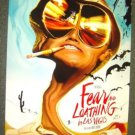 FEAR AND LOATHING IN LAS VEGAS Orig Poster  JOHNNY DEPP