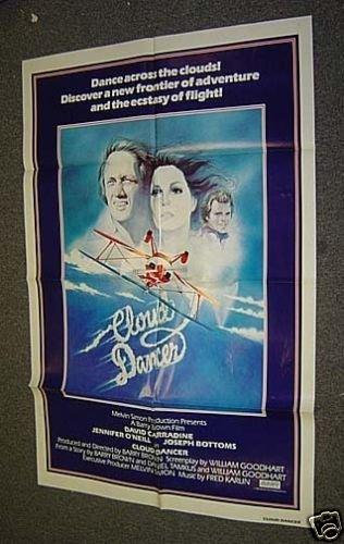 CLOUD DANCER Original DAVID CARRADINE  Poster AEROBATIC