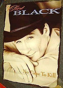CLINT BLACK Original PROMO Country Western MUSIC Poster