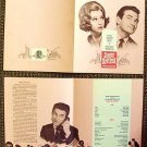 SUNDAY IN NEW YORK Rod Taylor JANE FONDA Screen PROGRAM