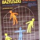 Lina Wertmüller POLISH The LIZARDS Poster  I basilischi
