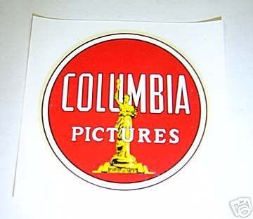 COLUMBIA PICTURES Studio Employee Parking DECAL $1 Ship