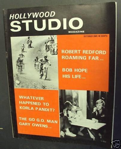 KORLA PANDIT  Hollywood Studio Magazine  ROBERT REDFORD