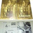 CAMELOT  Huge PRESSBOOK Richard Harris VANESSA REDGRAVE