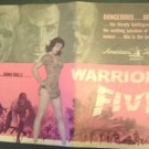 WARRIORS FIVE Pressbook JACK PALANCE Sexy ANNA RALLI