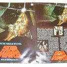 STAR WARS Original 1st ISSUE Promo FLYER  George Lucas