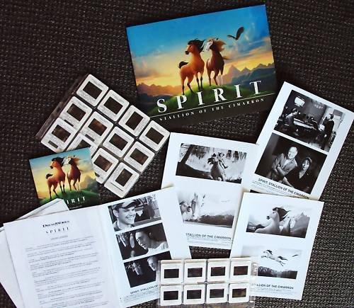 SPIRIT Stallion of  Cimarron PRESS KIT 30 slides  HORSE