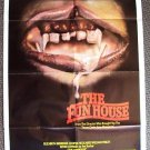 Fun House HORROR Poster TEXAS CHAINSAW Tobe Hooper 1981