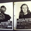 KAY JOHNSON Original  WARNER BROS Hair Test PHOTO  1938