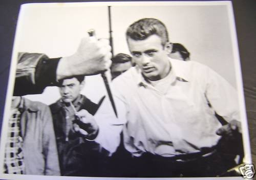 JAMES DEAN Ready to RUMBLE Photo REBEL WITHOUT A CAUSE