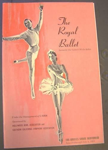 ROYAL BALLET Original 1963  Shrine Auditorium  PROGRAM