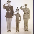 DADDY &  Son SALUTE Orig  ARMY BRAT Butch JENKINS Photo