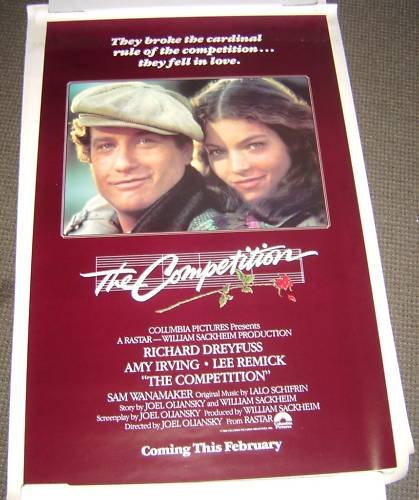 RICHARD DREYFUSS  The COMPETITION   Amy Irving   POSTER