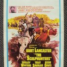 BURT LANCASTER The SCALPHUNTERS Window Card POSTER 1968