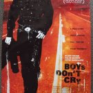 BOYS DON'T CRY Original DOUBLE Side POSTER Hilary Swank