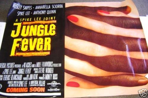 SPIKE LEE  Original  JUNGLE FEVER  Subway Movie POSTER
