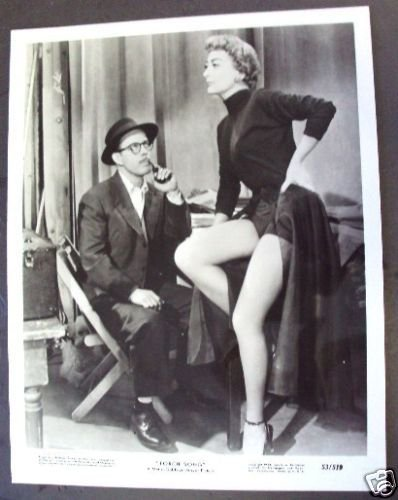 JOAN CRAWFORD Re-issue TORCH SONG legs M.G.M. Photo '53