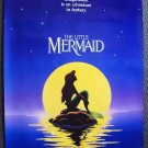 LITTLE MERMAID Original ADVANCE  2-Sided  DISNEY Poster